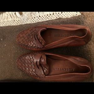 Robert sir woven leather loafer